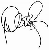 Melissa's signature. Get therapy for therapists to treat therapist burnout with online therapist Melissa Russiano who offers online therapy for anxiety in Ohio, online therapy in Tennessee, online therapy in Pennsylvania, online therapy in Florida, and online therapy in California